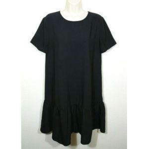HALOGEN Women Drop Waist Flare Shift Dress 2748E1